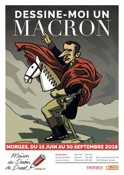 © herrmann/mddp - Dessine-moi un Macron