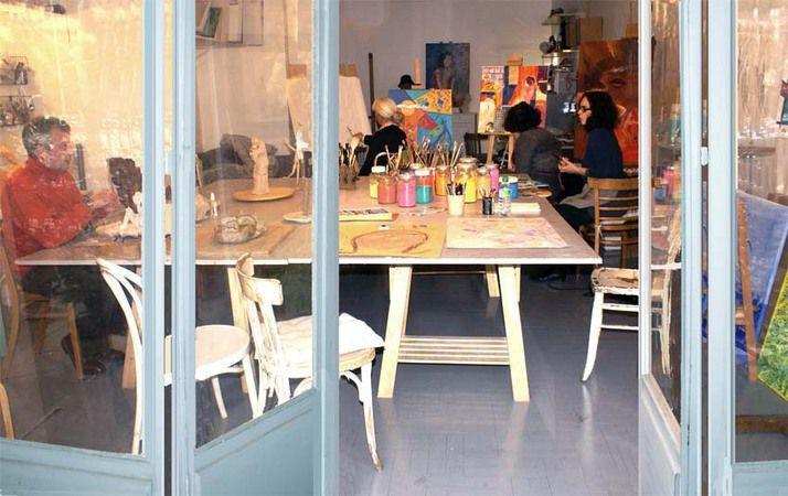 Cours/Atelier de Peinture Dessin / L'Atelier du Geai Bleu / Nice