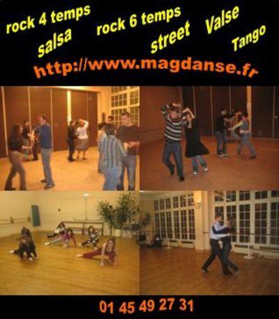cours de danse paris rock salsa street funk r 39 n 39 b valse tango paso doble cha cha. Black Bedroom Furniture Sets. Home Design Ideas