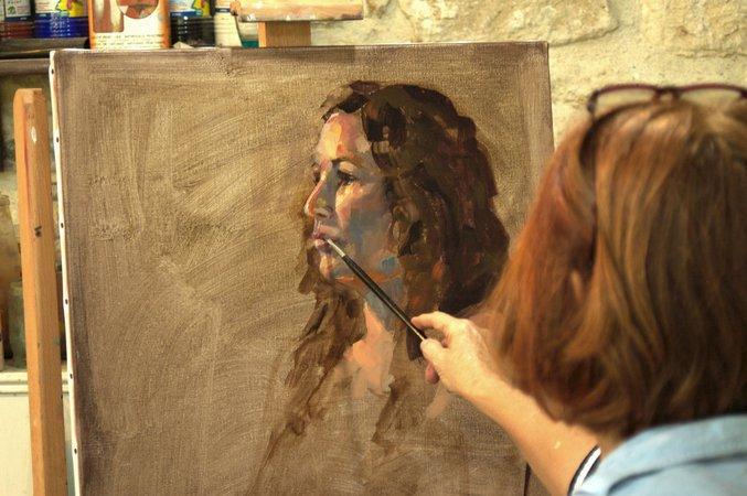 """Résultat de recherche d'images pour """"stage de peinture à l'huile"""""""