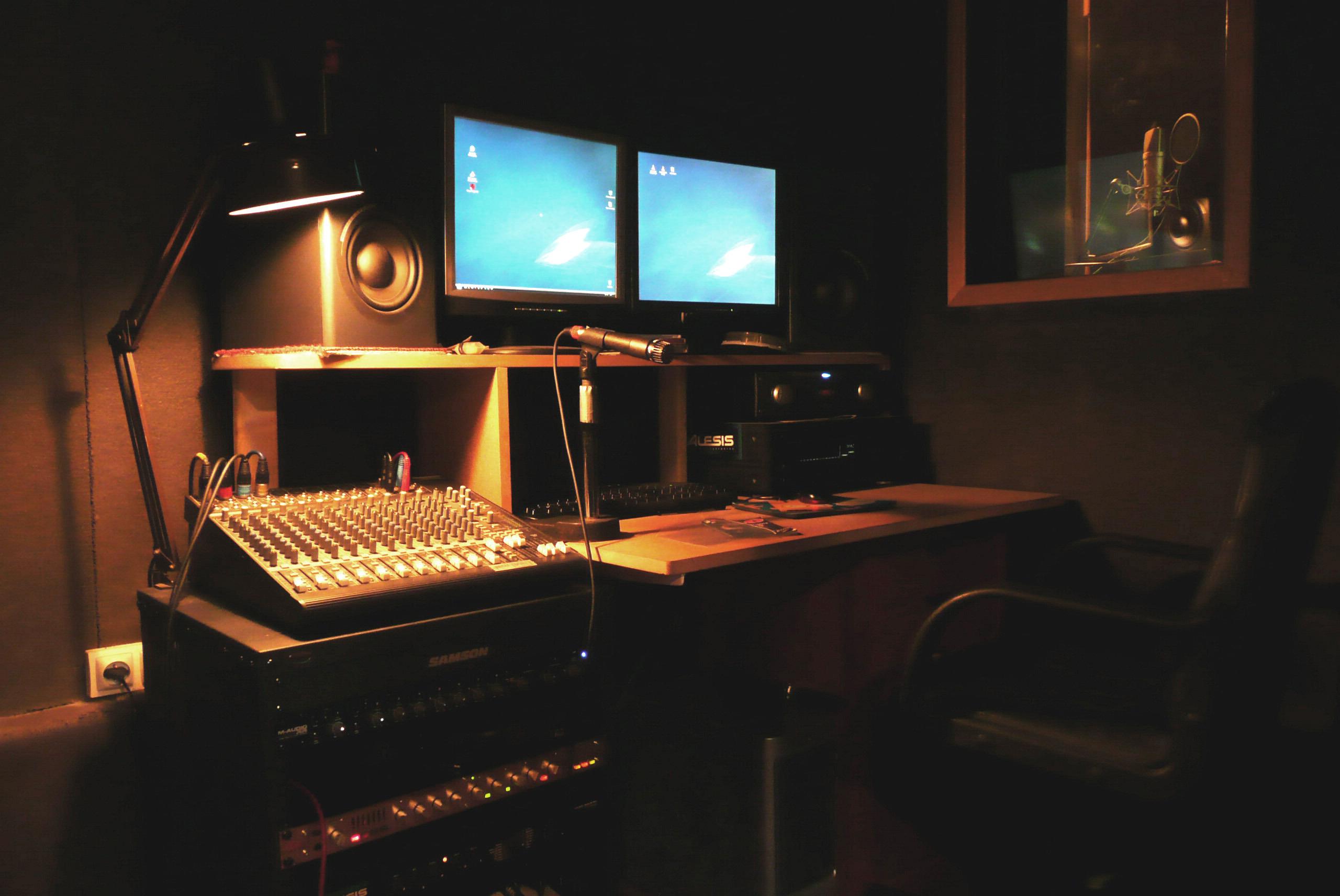 Studio d 39 enregistrement rap paris - Table de mixage studio d enregistrement ...