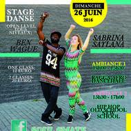 Stage de danse afro, ragga, hip hop