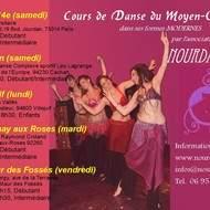 Cours Danse de Moyen-Orient Moderne à Fontenay aux roses