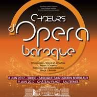 Choeur d'opéra baroque