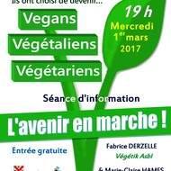 Vegan, Végétaliens, Végétariens _ L'avenir en marche !