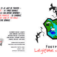 FootPrint MusicBand New CD - Légitime Démence