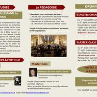 Stage de chant choral et master class