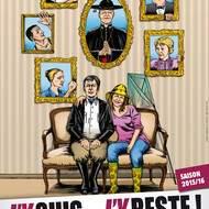 J'y suis... j'y reste ! la nouvelle comédie produite par la Cie LA BAN D'RÔLE sur la scène de l'espace culturel Daniel Balavoine