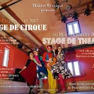 Stage de cirque et théâtre 2017!
