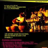 Balaniconte, contes et musiques du monde, de 4 à 124 ans