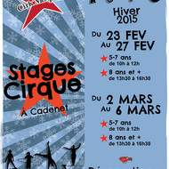 Stages de Cirque