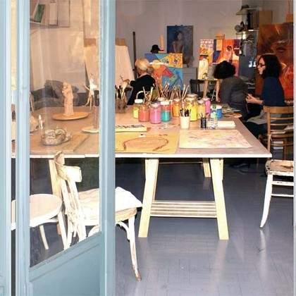 Cours/Atelier de Peinture Dessin/L'atelier du geai bleu/Nice